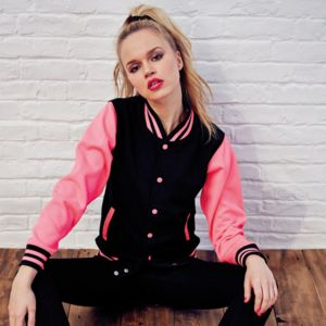 Electric varsity jacket Thumbnail