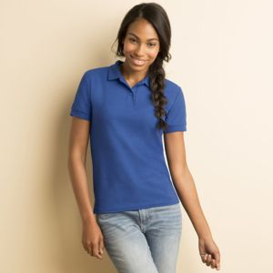 Women's DryBlend™ double piqué sports shirt Thumbnail